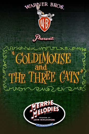 Goldimouse and the Three Cats Poster