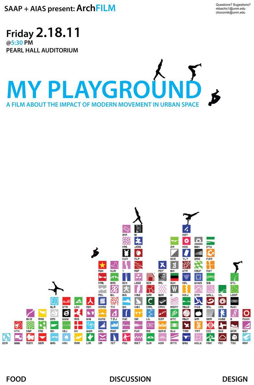 My Playground Poster