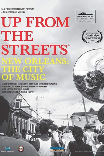 Up From the Streets - New Orleans: The City of Music Poster