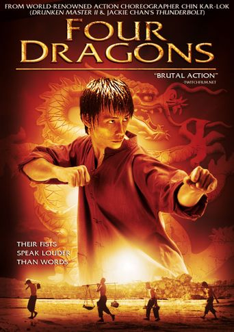 Four Dragons Poster