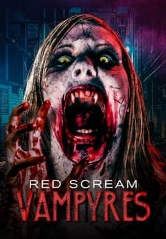 Red Scream Vampyres Poster