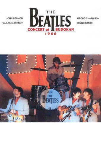 The Beatles - Live at Budokan Poster