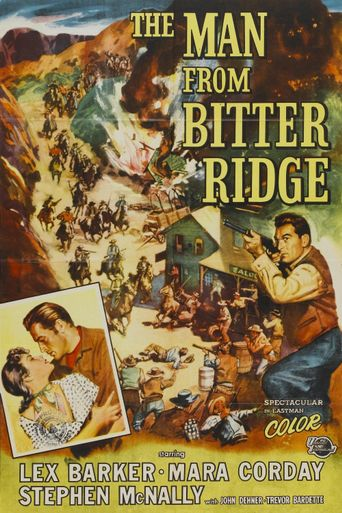 The Man from Bitter Ridge Poster