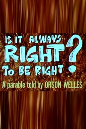 Is It Always Right to Be Right? Poster