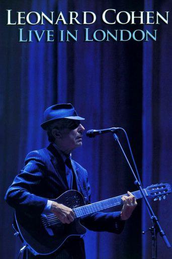 Leonard Cohen: Live In London Poster