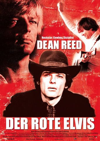 The Red Elvis Poster