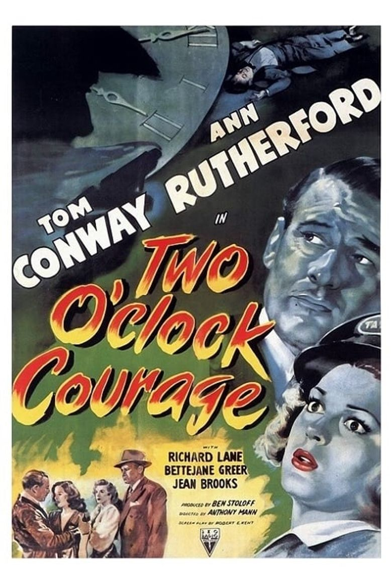 Two O'Clock Courage Poster