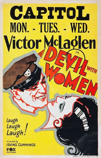 A Devil with Women Poster