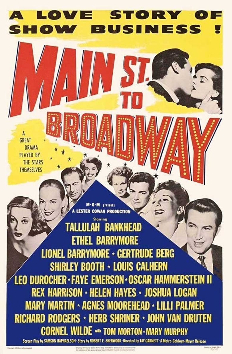Main Street to Broadway Poster