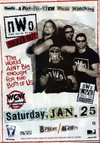 WCW NWO Souled Out 1997 Poster