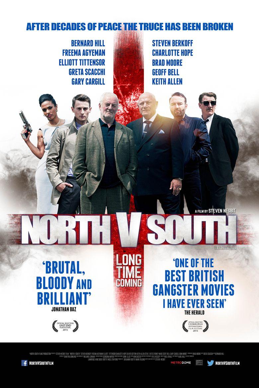 North v South Poster