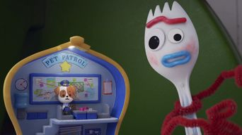 Forky Asks a Question: What Is a Pet? Poster