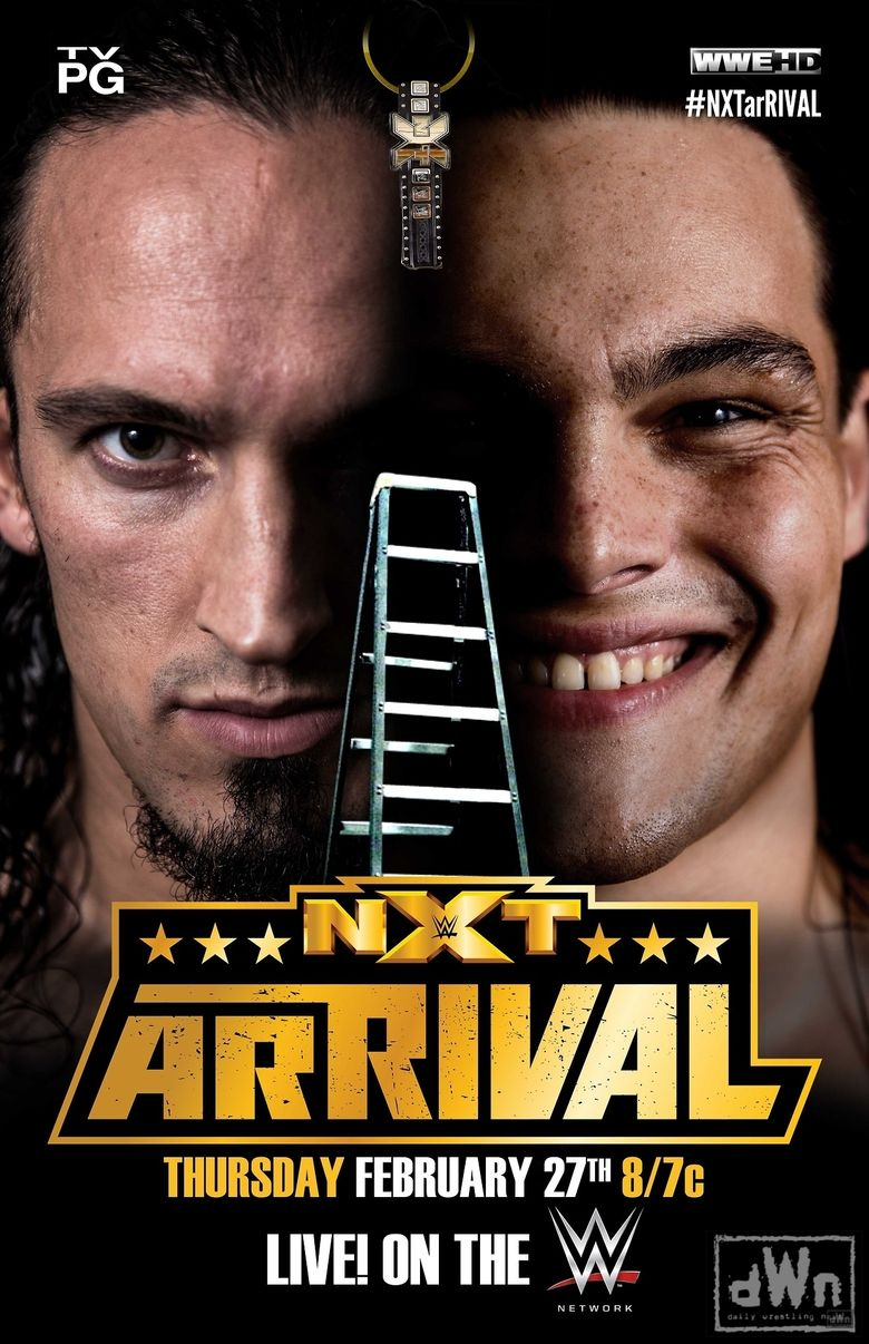 NXT ArRIVAL Poster