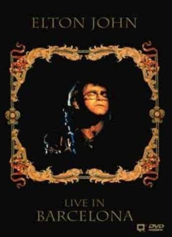 Elton John: Live In Barcelona Poster