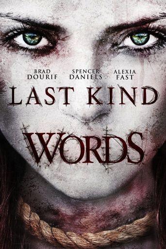 Last Kind Words Poster