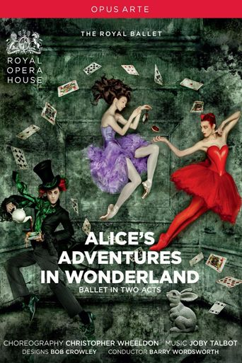 Alice's Adventures in Wonderland (Royal Opera House) Poster