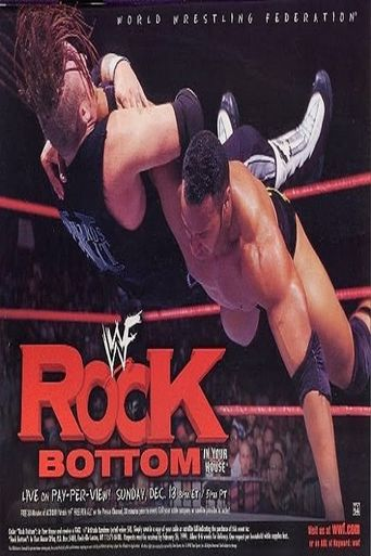 WWE Rock Bottom: In Your House Poster