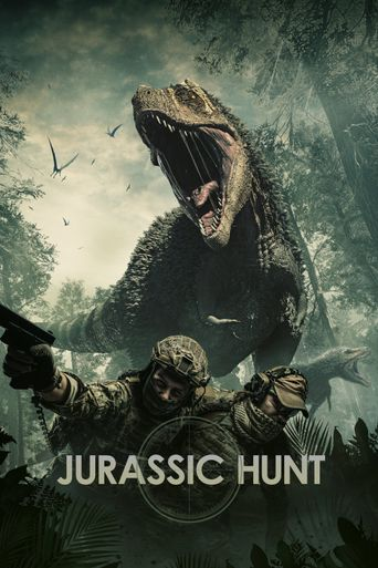 Jurassic Hunt Poster