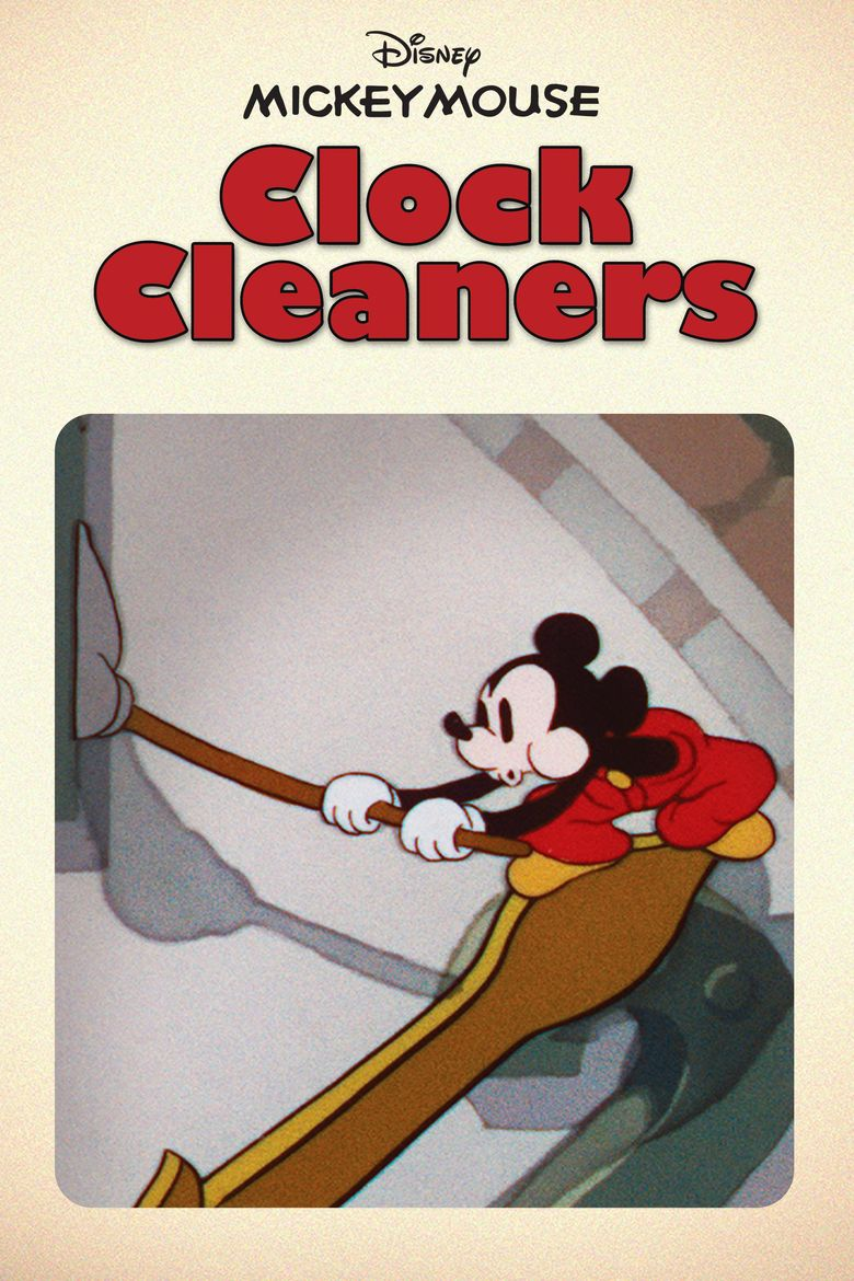 Clock Cleaners Poster