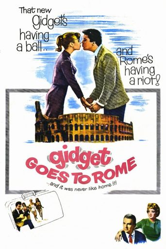 Gidget Goes to Rome Poster