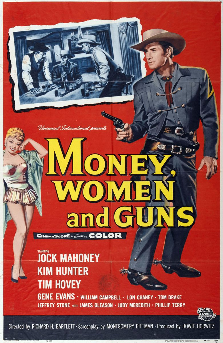 Money, Women and Guns Poster
