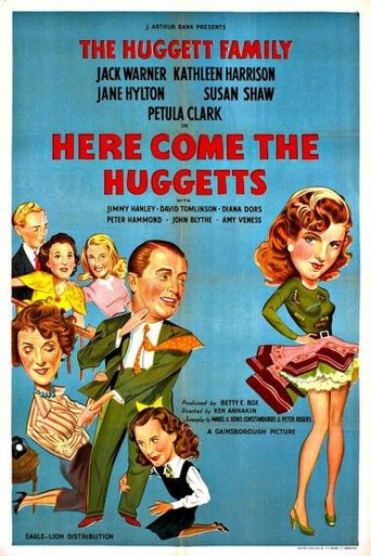 Here Come the Huggetts Poster