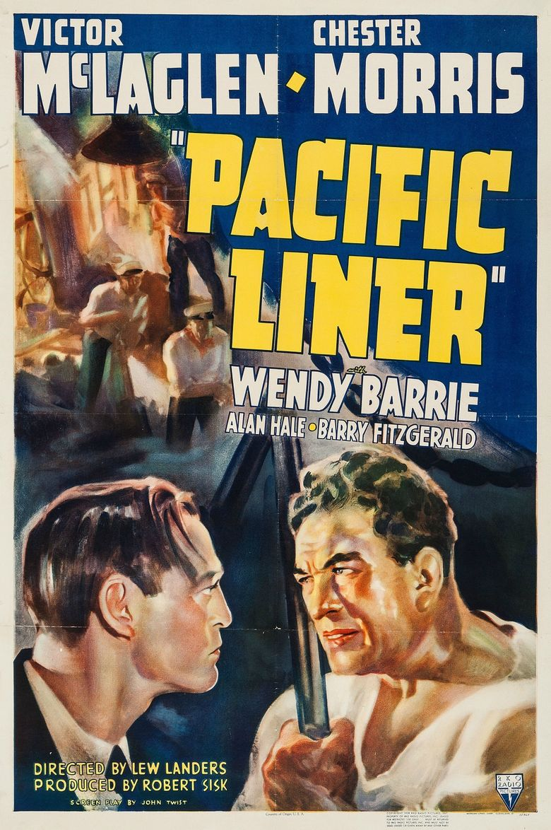 Pacific Liner Poster
