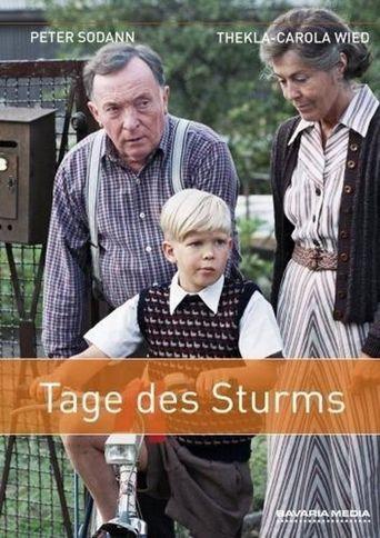 Tage des Sturms Poster