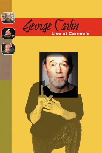 Carlin at Carnegie Poster