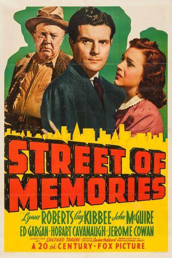 Street of Memories Poster