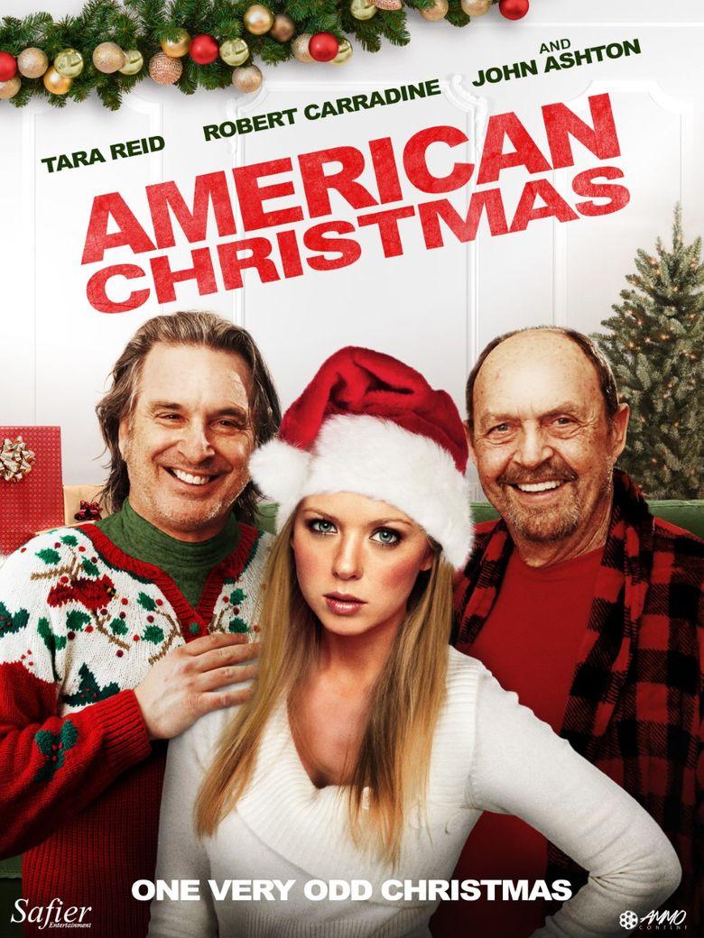 American Christmas Poster