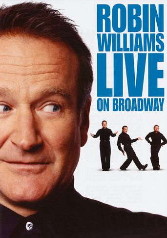 Robin Williams: Live on Broadway Poster