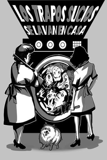 Don't Air Your Dirty Laundry In Public Poster