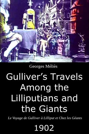 Gulliver's Travels Among the Lilliputians and the Giants Poster