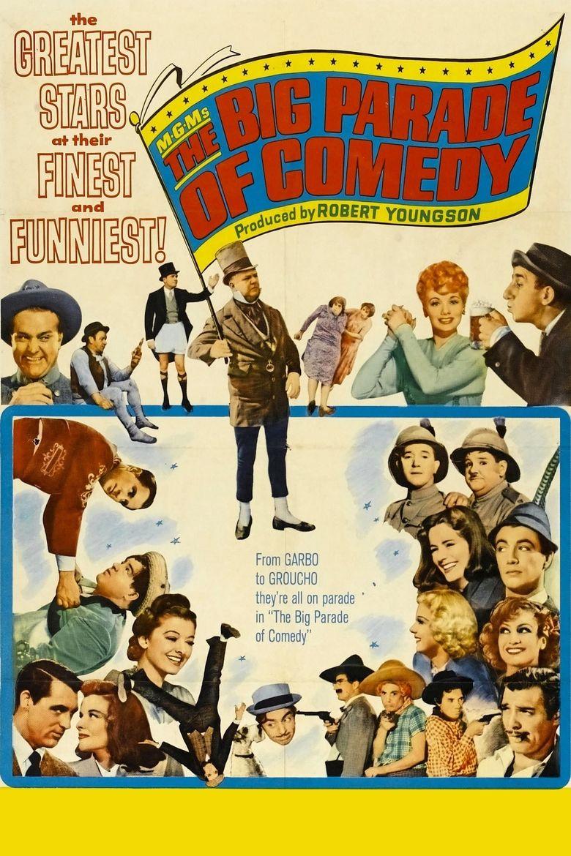 The Big Parade of Comedy Poster