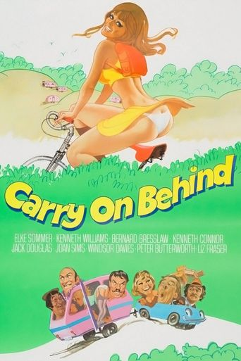 Carry On Behind Poster