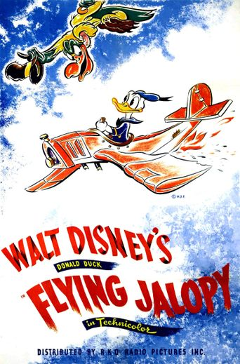 The Flying Jalopy Poster