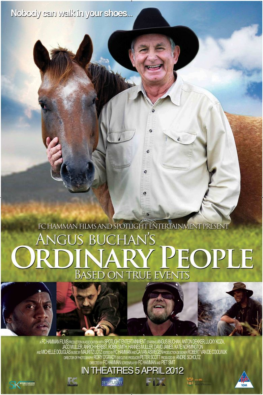 Angus Buchan's Ordinary People Poster