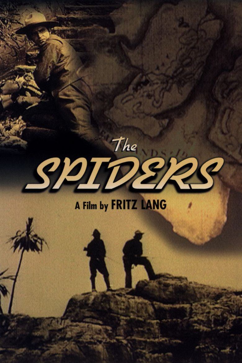 The Spiders - The Diamond Ship Poster
