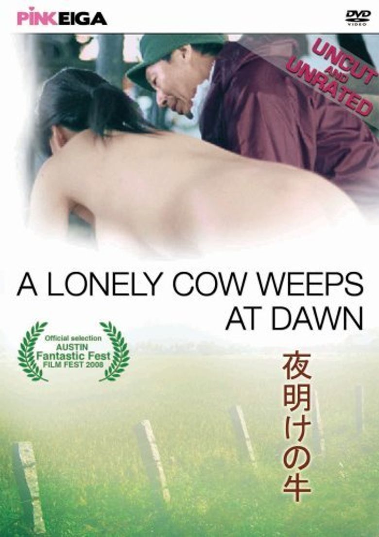 A Lonely Cow Weeps at Dawn Poster