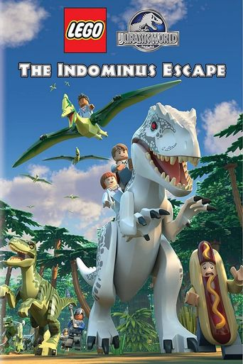 LEGO Jurassic World: The Indominus Escape Poster