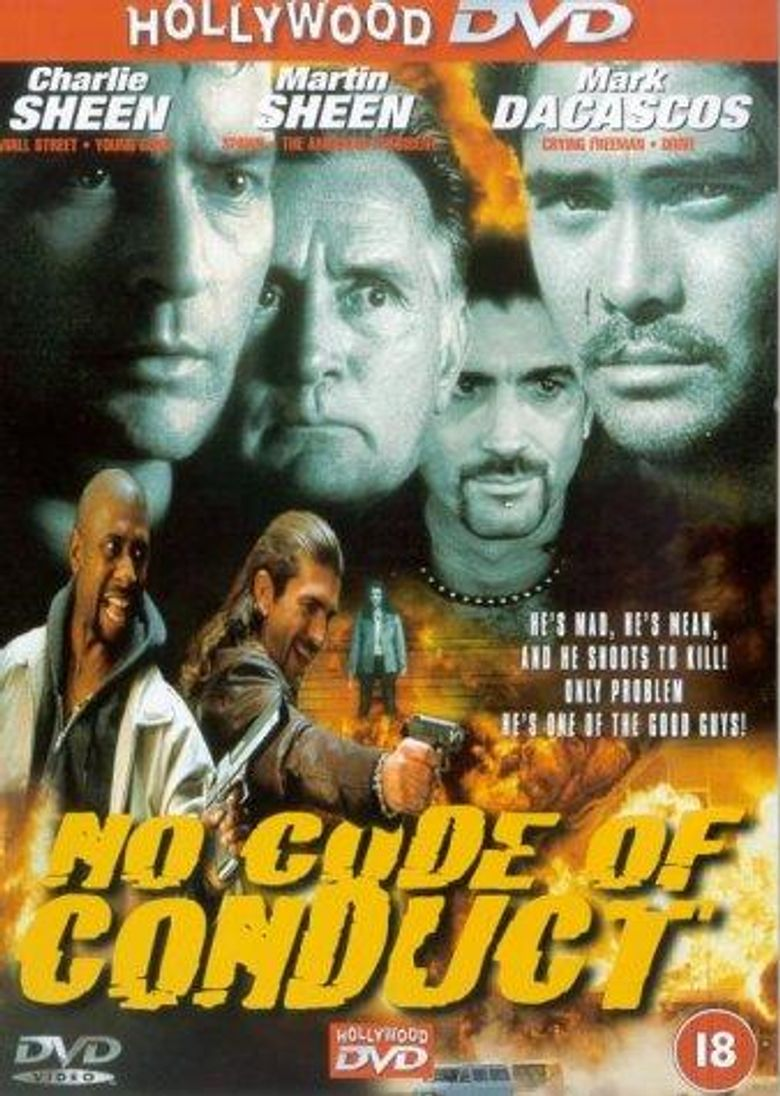No Code of Conduct Poster