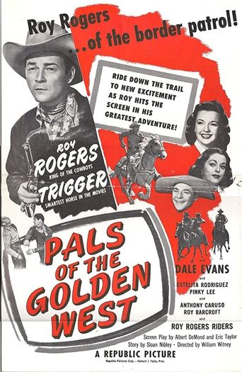 Pals of the Golden West Poster