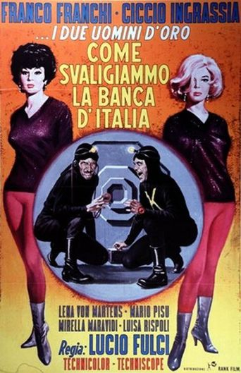 How We Robbed the Bank of Italy Poster