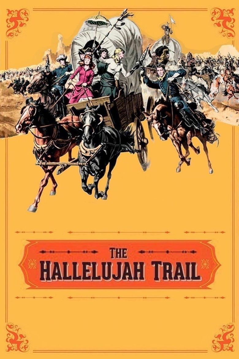 The Hallelujah Trail Poster