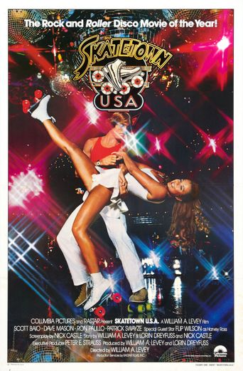 Skatetown, U.S.A. Poster