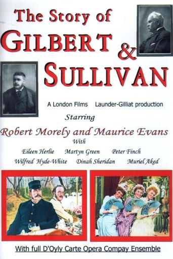 The Story of Gilbert and Sullivan Poster