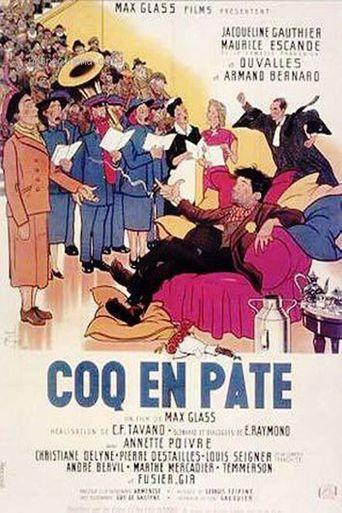 Coq en pâte Poster