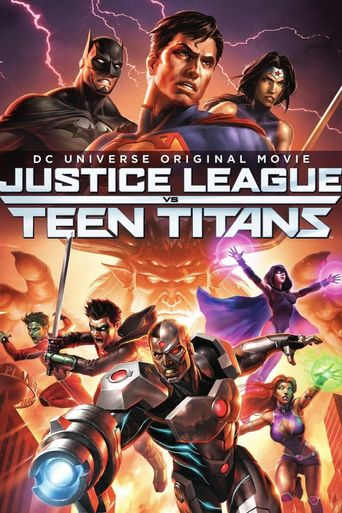 Justice League vs. Teen Titans Poster