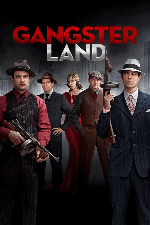 Gangster Land Poster